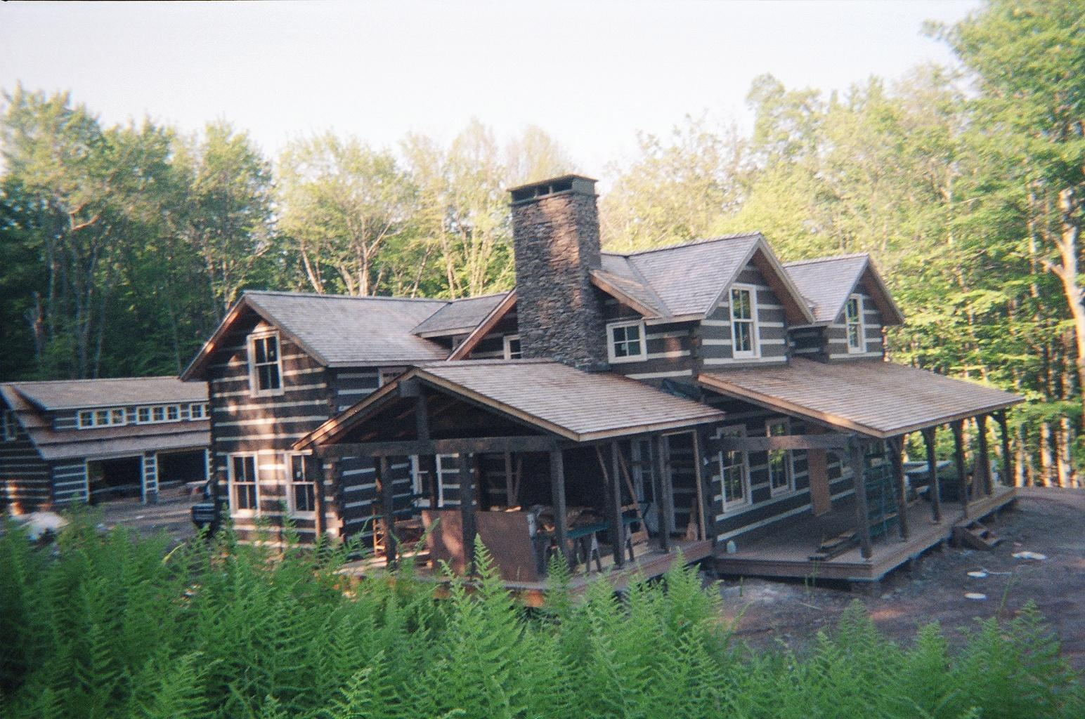 Log home plans in tn